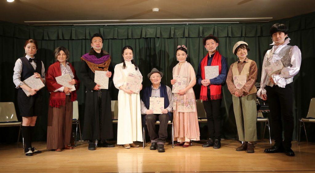 朗読劇『アンチゴーヌ』を無事に公演することができました。